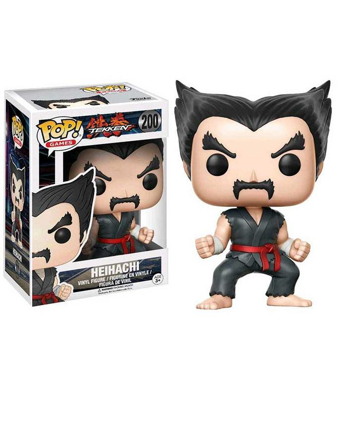 Figura POP! Tekken - Heihachi (Black and Red Judo)