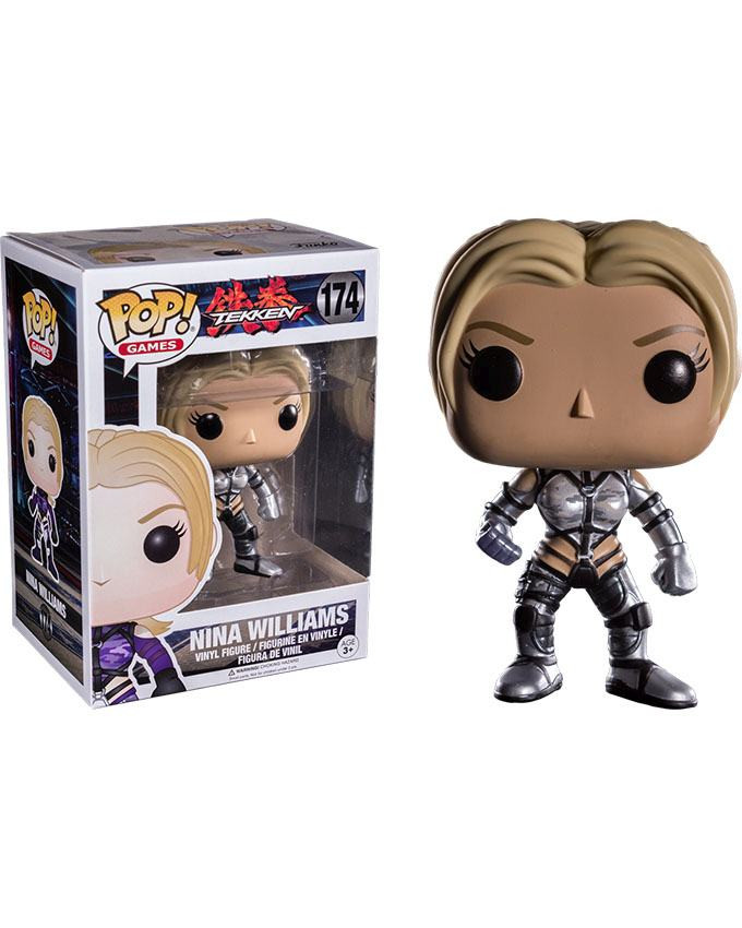 Figura POP! Tekken - Nina Williams Silver Suit
