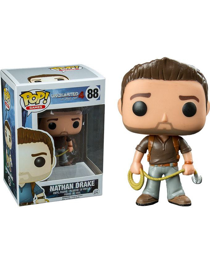 Figura POP! Uncharted - Nathan Drake Brown Shirt
