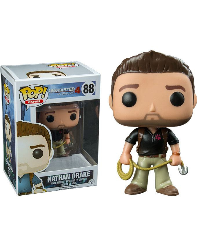 Figura POP! Uncharted - Nathan Drake Naughty Dog