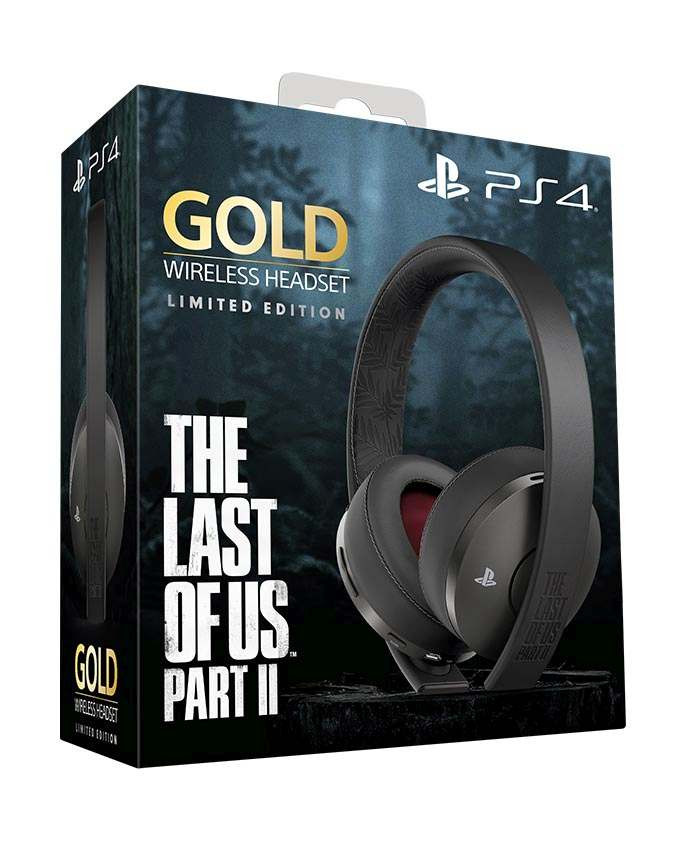 Slušalice PS4 Wireless Headset Gold - The Last of Us 2 Edition