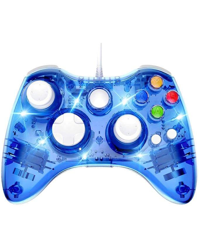 Gamepad XBOX 360 Rock Candy Controller Blueberry Boom