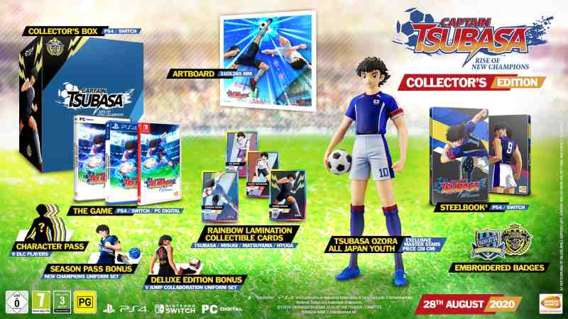 PS4 Captain Tsubasa - Rise of New Champions - Collectors Edition