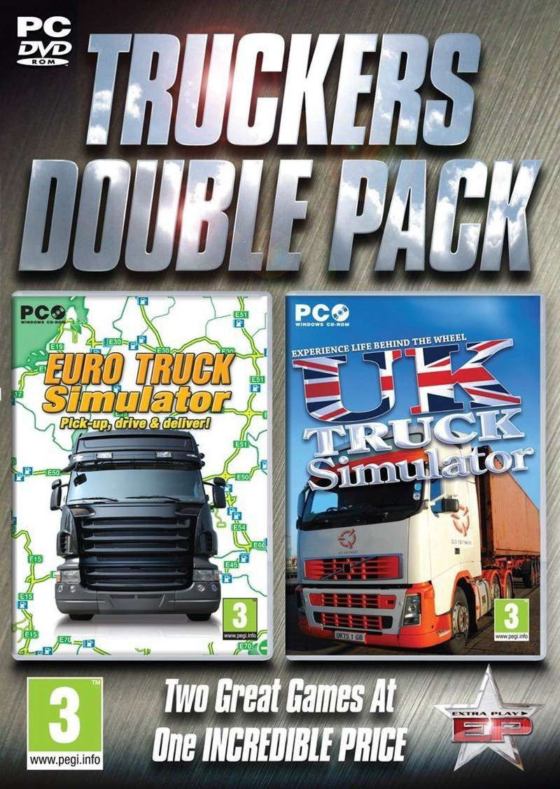 PCG Truckers Double Pack - Euro Truck and UK Truck Simulator