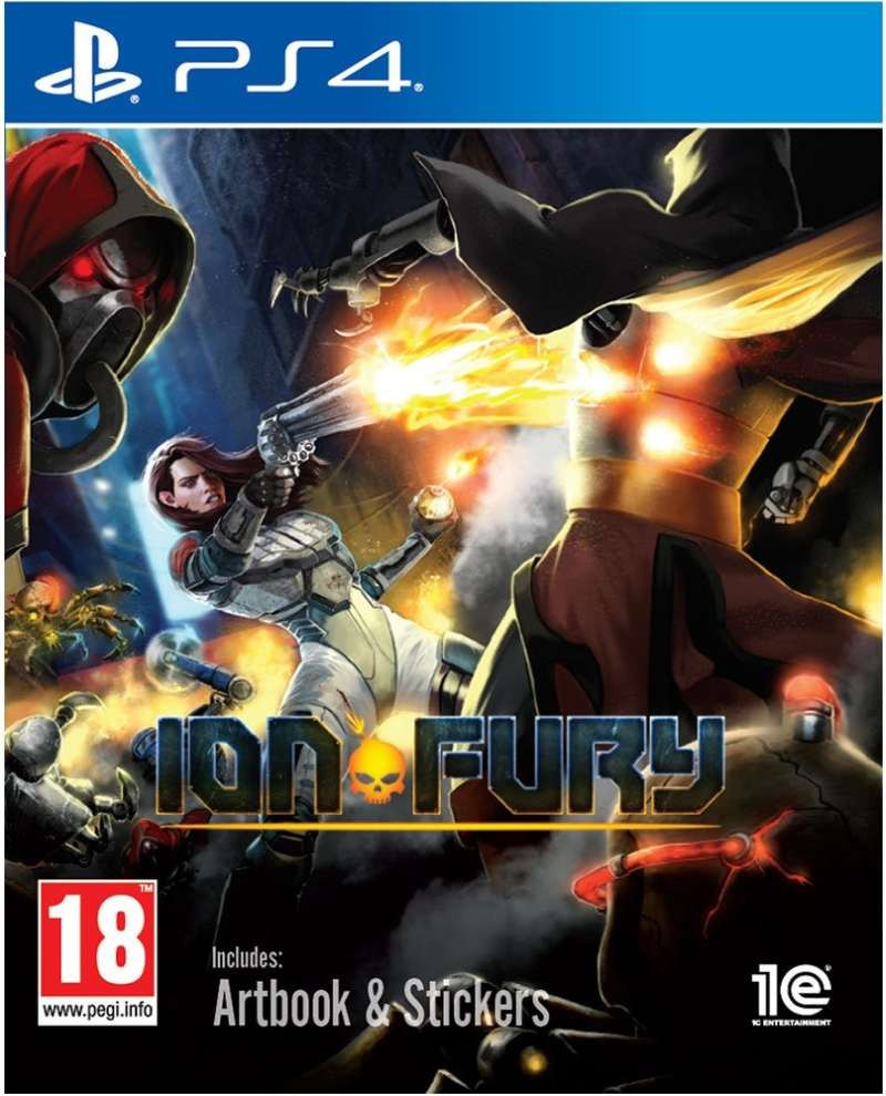 PS4 Ion Fury