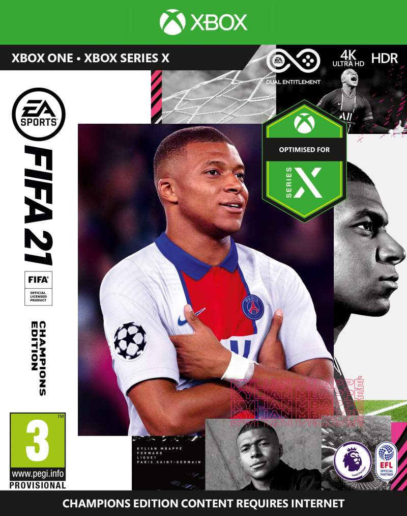 XBOX ONE FIFA 21 - Champions Edition