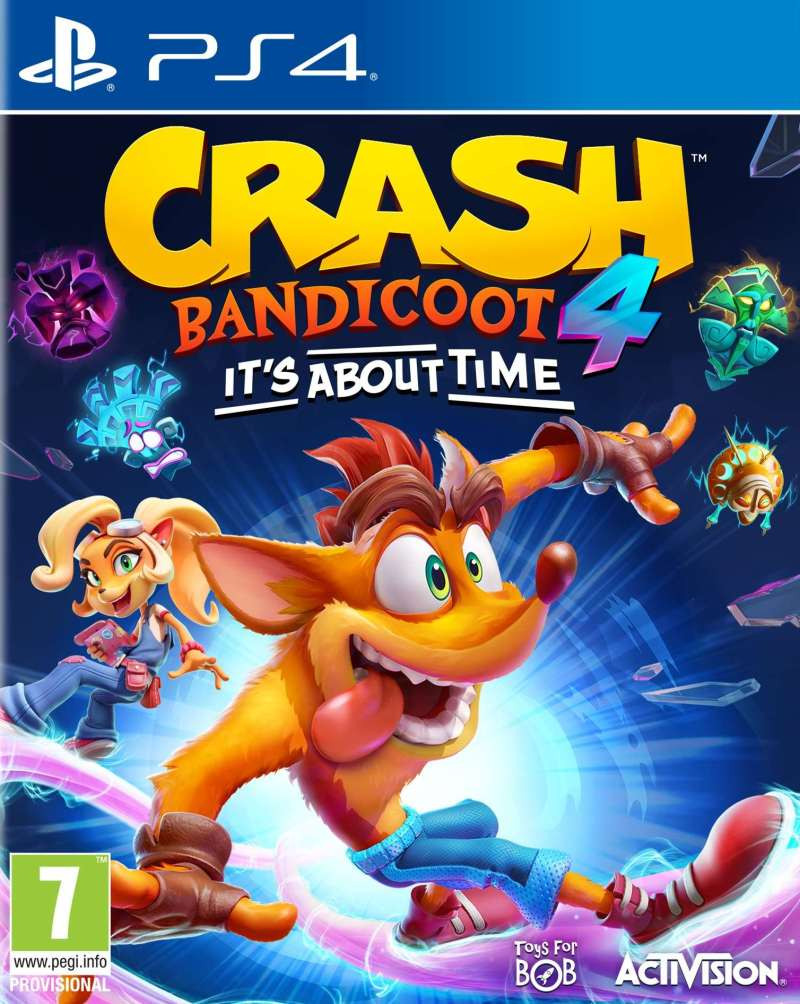 PS4 Crash Bandicoot 4 - Its About Time