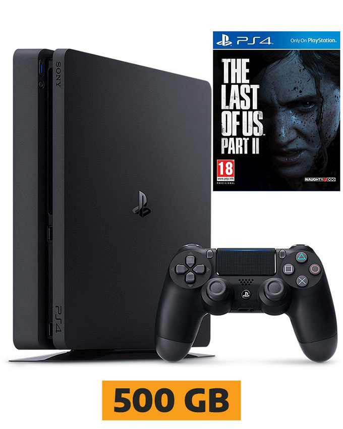 Konzola Sony PlayStation 4 Slim 500GB + The Last of Us 2