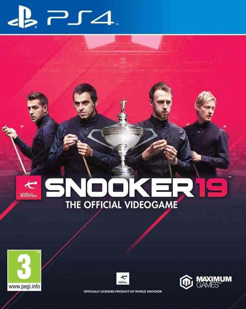 PS4 Snooker 19 - The Official Videogame