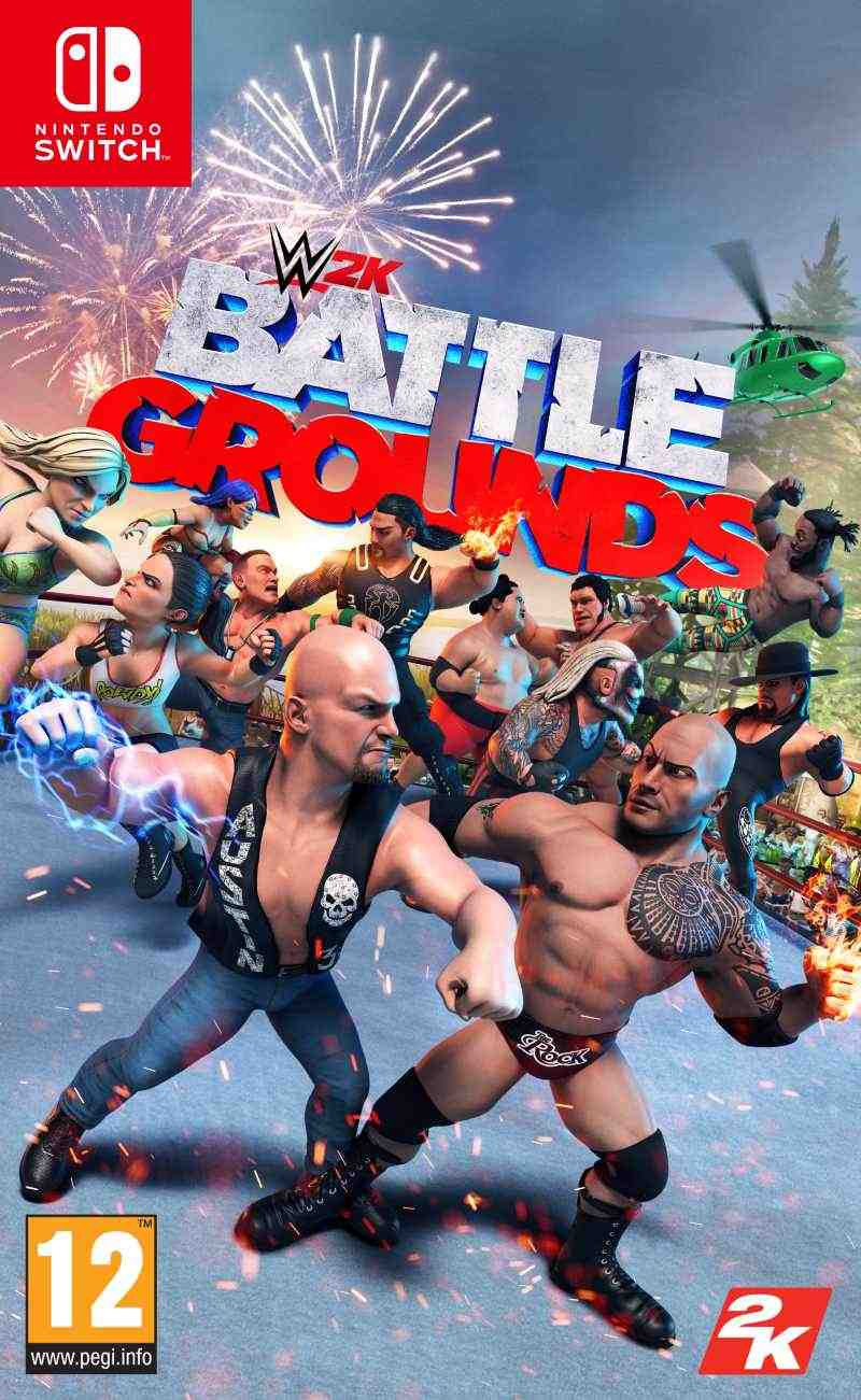 SWITCH WWE 2K Battlegrounds - igrica za Nintendo SWITCH