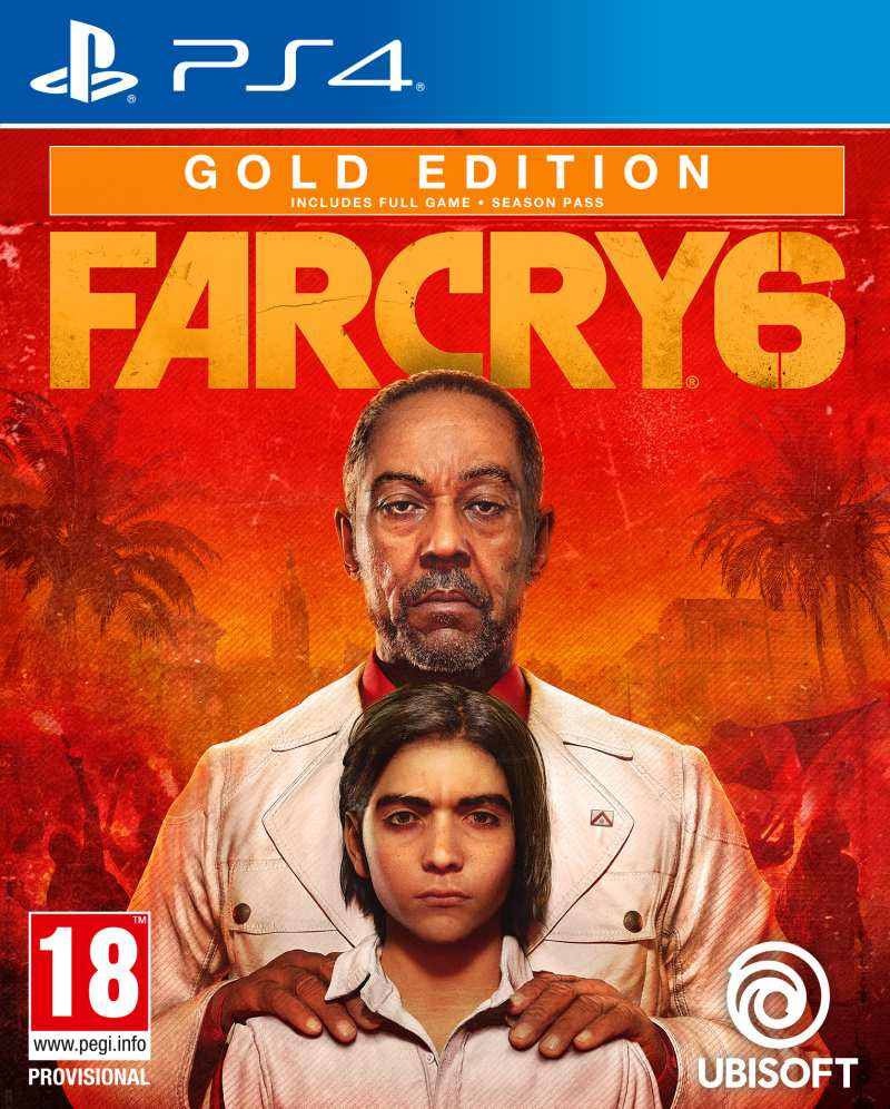 PS4 Far Cry 6 - Gold Edition