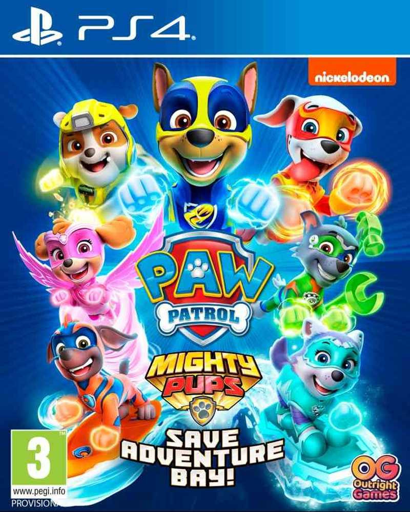 PS4 Paw Patrol - Mighty Pups Save Adventure Bay - Patrolne šape 2 igrica
