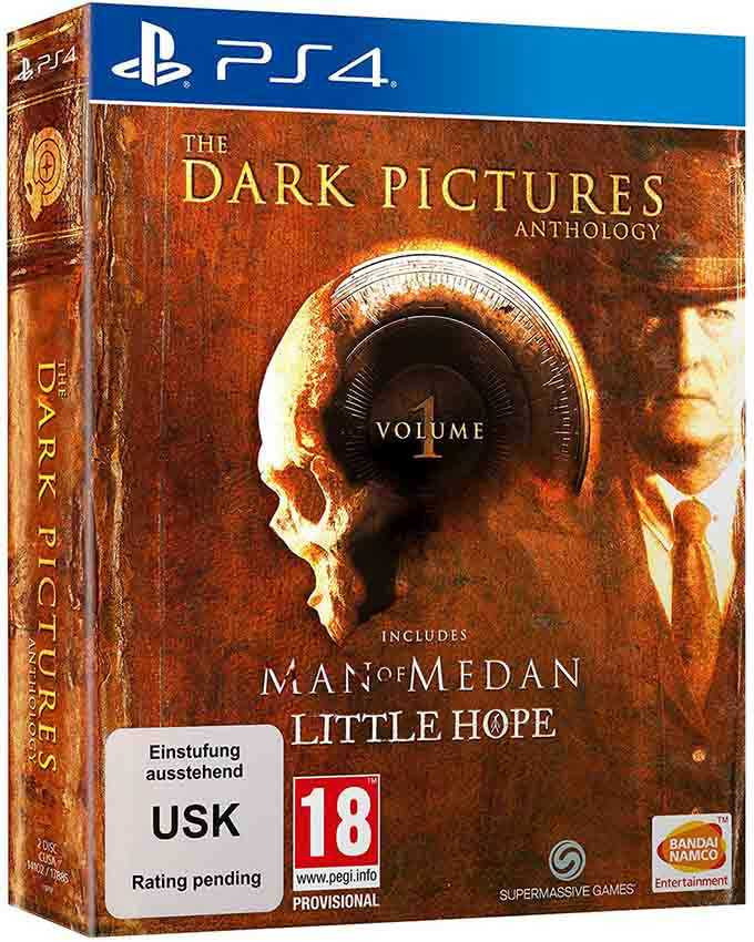 PS4 The Dark Pictures Anthology Volume 1 - Limited Edition