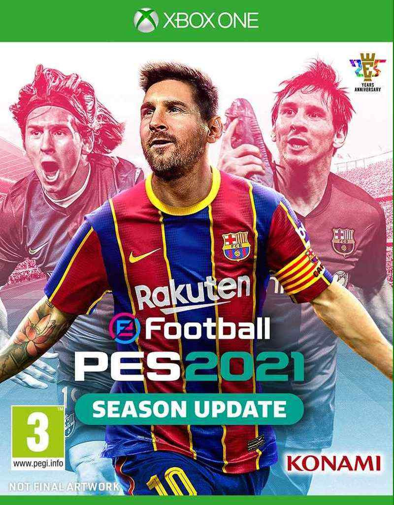 XBOX ONE eFootball PES 2021 Season Update - Pro Evolution Soccer 2021