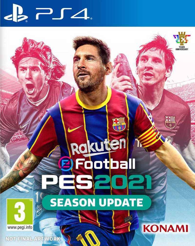 PS4 eFootball PES 2021 Season Update - Pro Evolution Soccer 2021