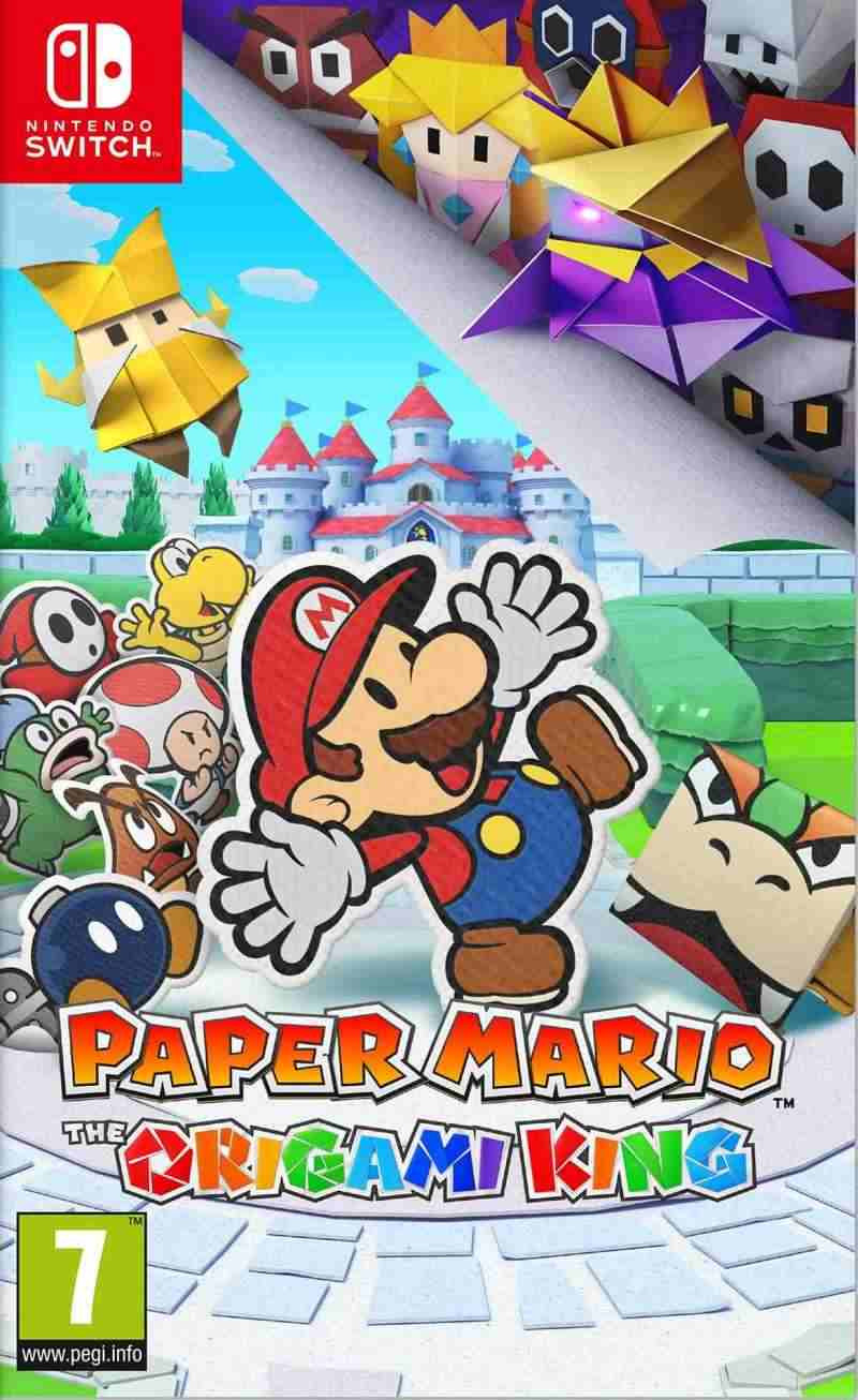 SWITCH Paper Mario - The Origami King - igrica za Nintendo SWITCH