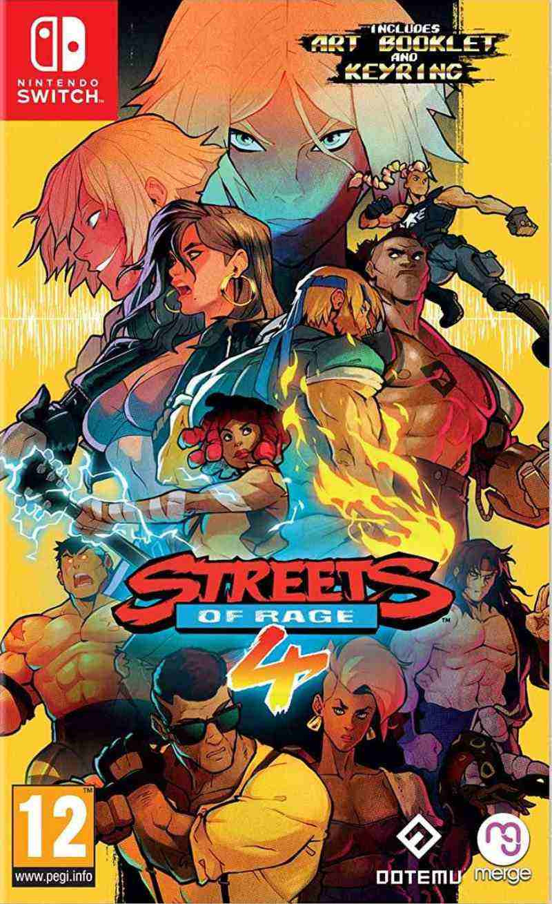 SWITCH Streets of Rage 4