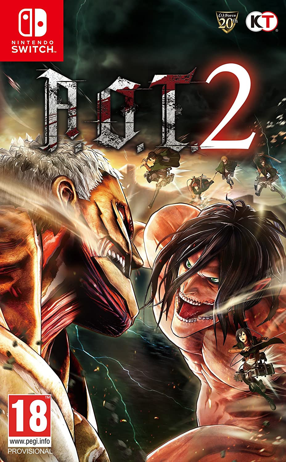 SWITCH Attack on Titan 2 (AOT 2)