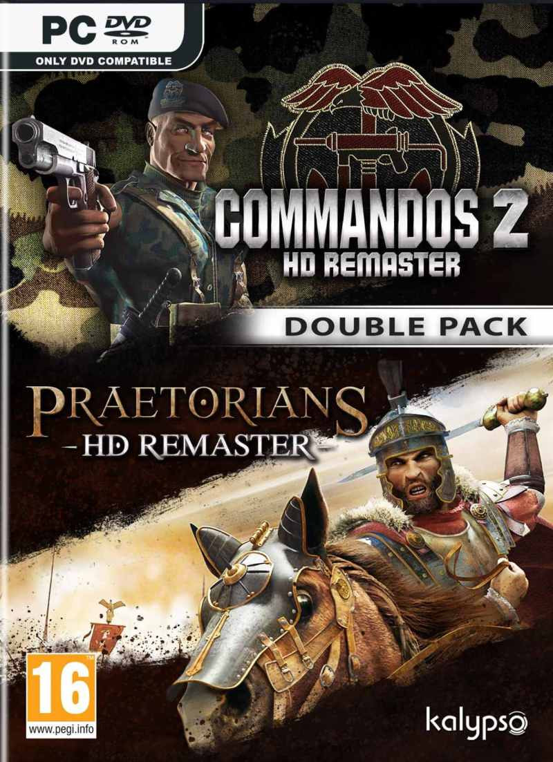 PCG Commandos 2 and Pretorians HD Remaster Double Pack
