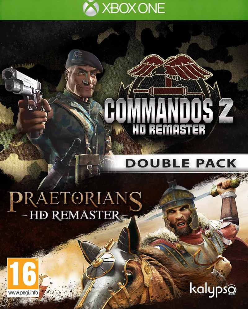 XBOX ONE Commandos 2 and Pretorians HD Remaster Double Pack