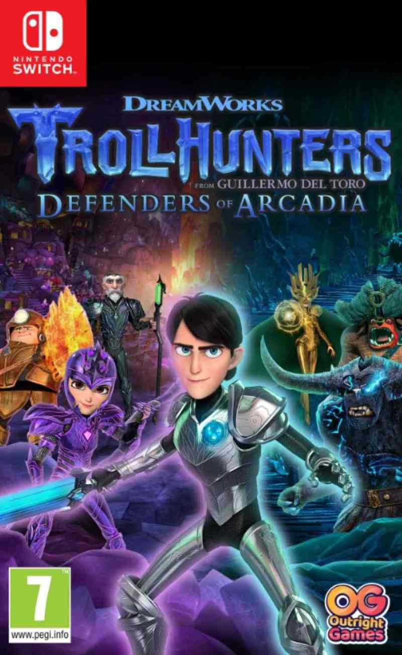 SWITCH Trollhunters - Defenders of Arcadia
