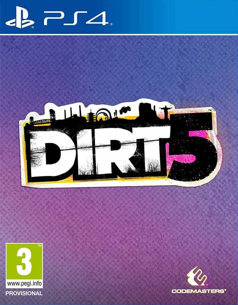 PS4 Dirt 5 - Day One Edition
