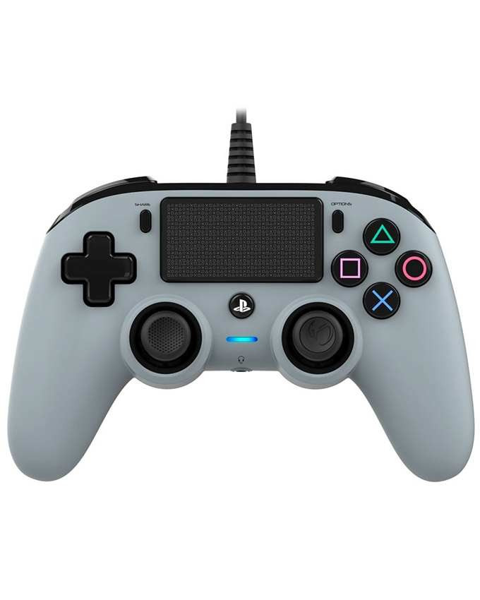 Gamepad Nacon PS4 Wired Compact Gray