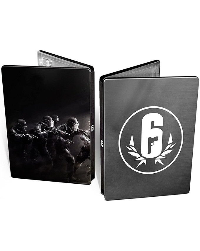 XBOX ONE Tom Clancys Rainbow Six: Siege - Steelbook Edition