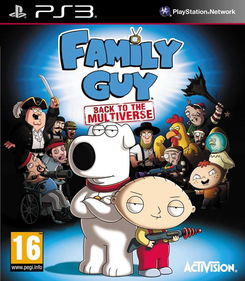 PS3 Family Guy - Back to the Multiverse
