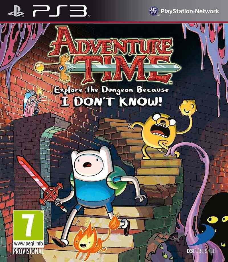 PS3 Adventure Time - Explore The Dungeon Because I Dont Know