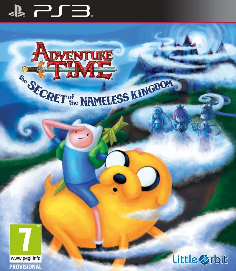 PS3 Adventure Time - The Secret of the Nameless Kingdom