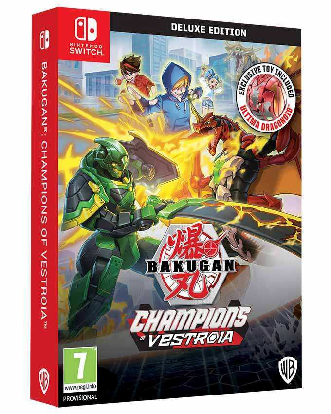SWITCH Bakugan Champions of Vestroia - Deluxe Edition