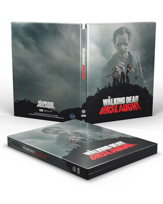 PS4 The Walking Dead Onslaught - Survivor Edition VR