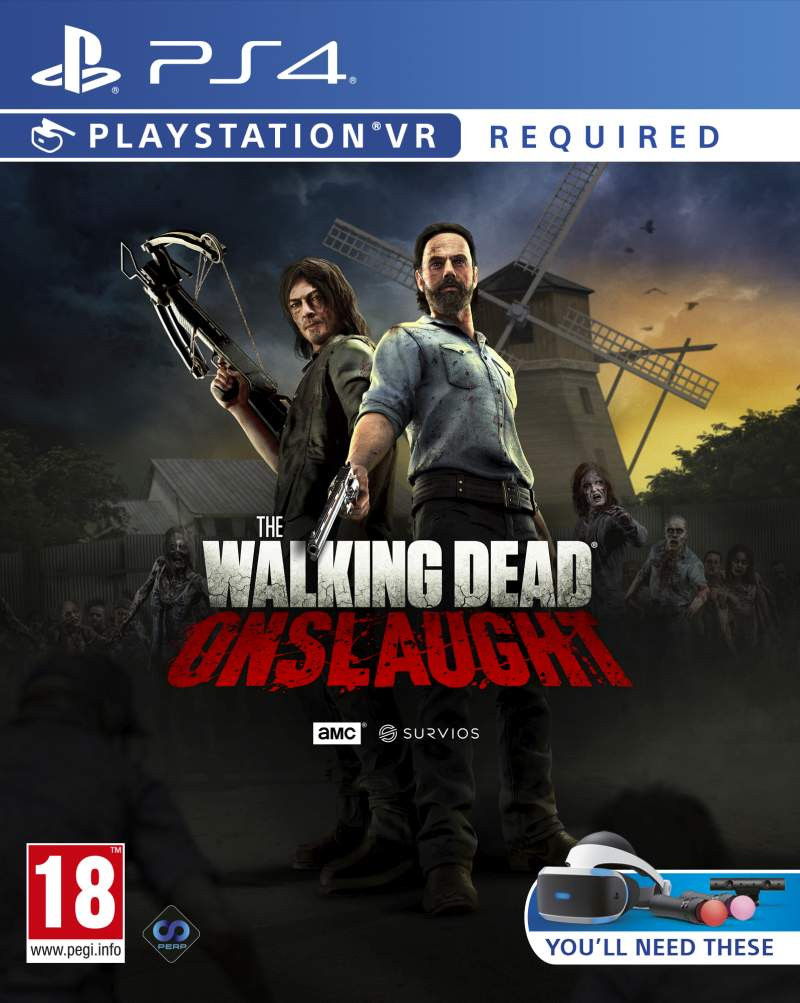 PS4 The Walking Dead Onslaught VR