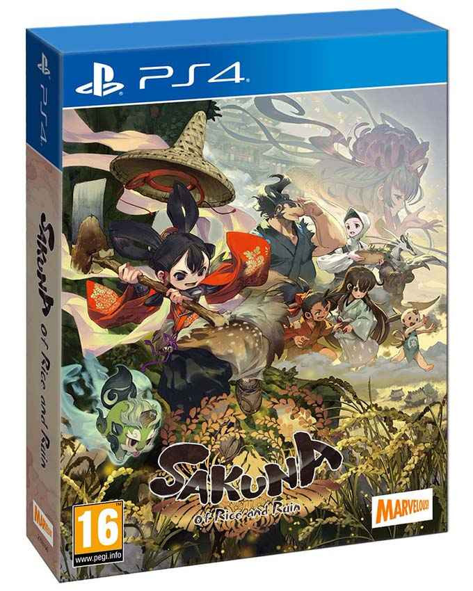 PS4 Sakuna of Rice and Ruin - Limited Edition
