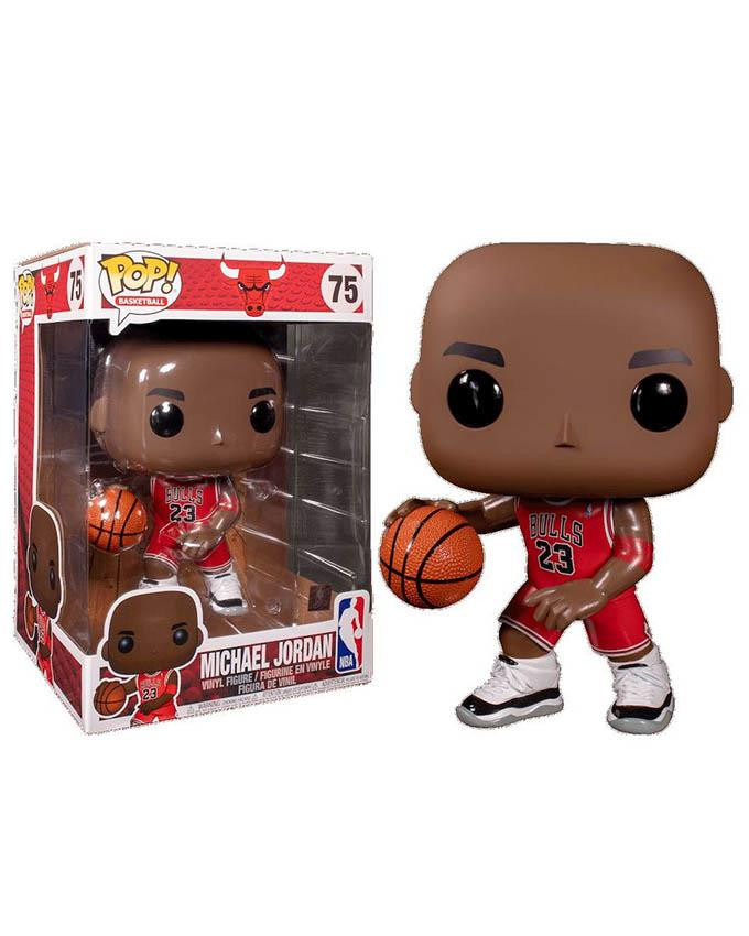 Figura POP! NBA Bulls - Michael Jordan - Red Jersey - 25cm