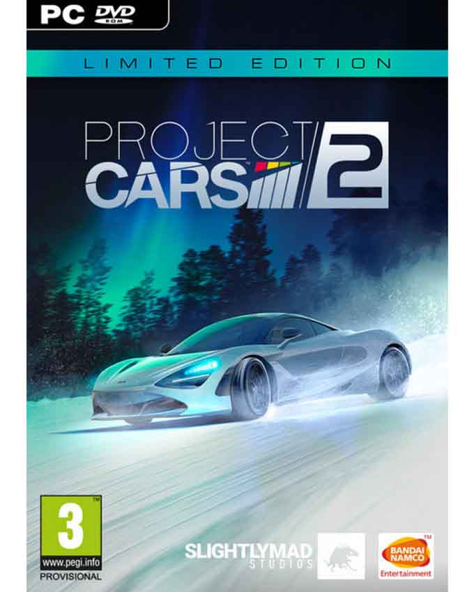 PCG Project Cars 2 - Limited Edition