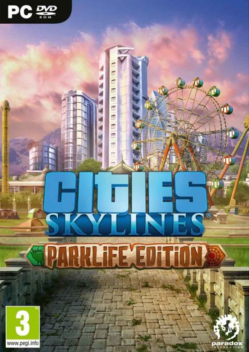 PCG Cities Skylines - Parklife Edition