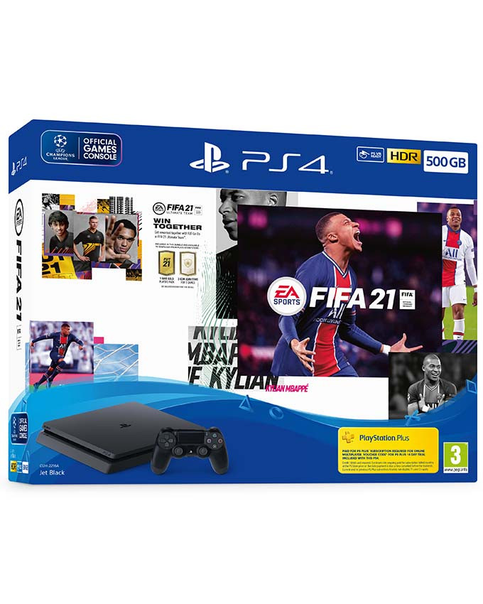 Konzola Sony PlayStation 4 Slim 500GB + PS4 FIFA 21
