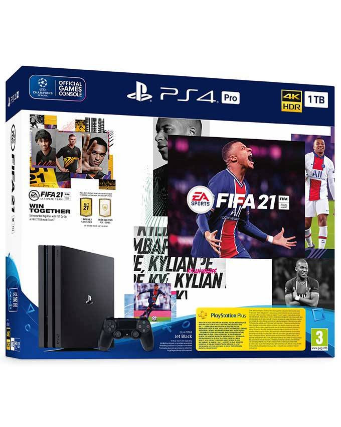 Konzola Sony PlayStation 4 Pro 1TB Black + PS4 FIFA 21