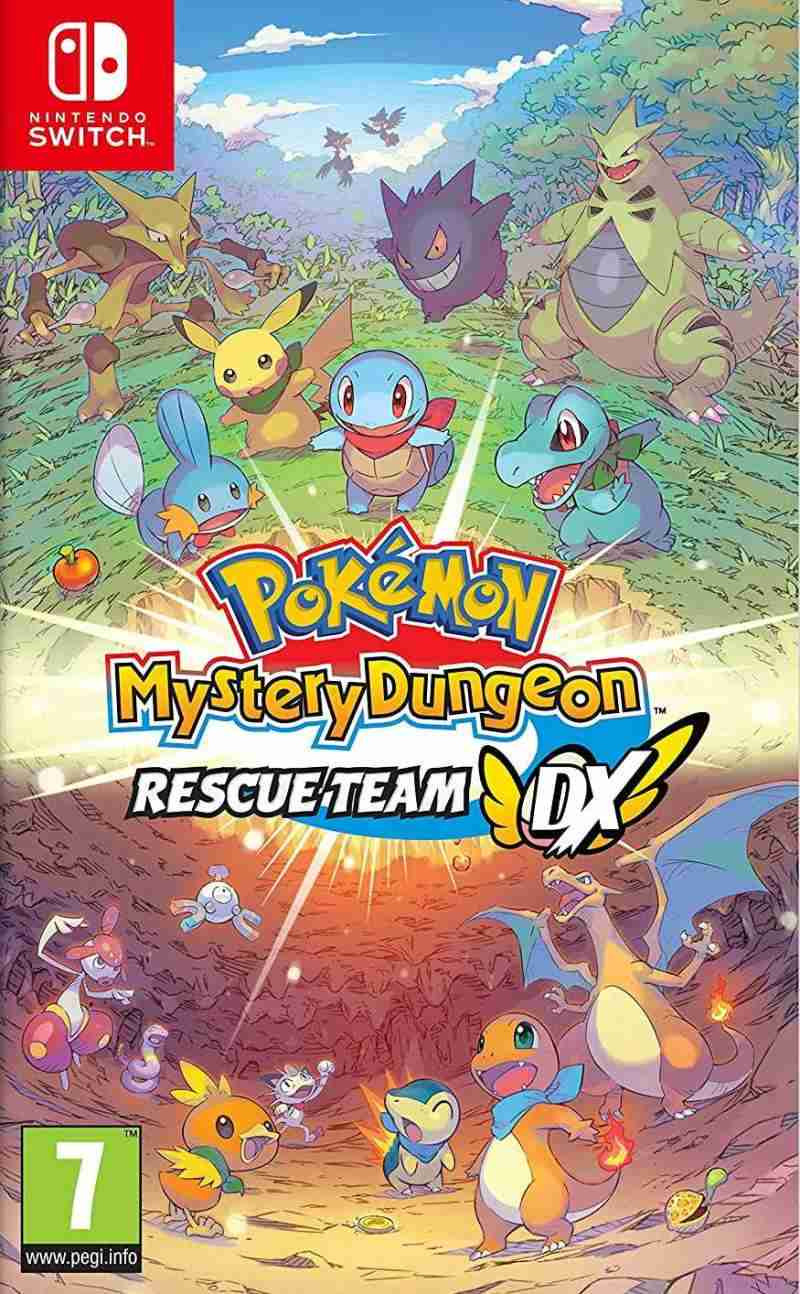 SWITCH Pokemon Mystery Dungeon Rescue Team Dx