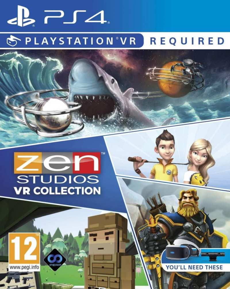 PS4 The Zen Collection VR