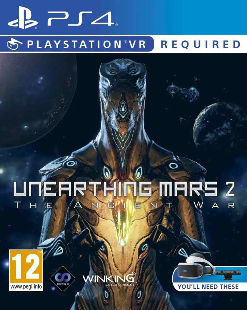 PS4 Unearthing Mars 2 VR