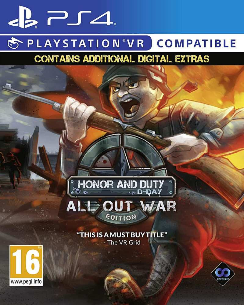 PS4 Honor and Duty - D-day Double Pack VR