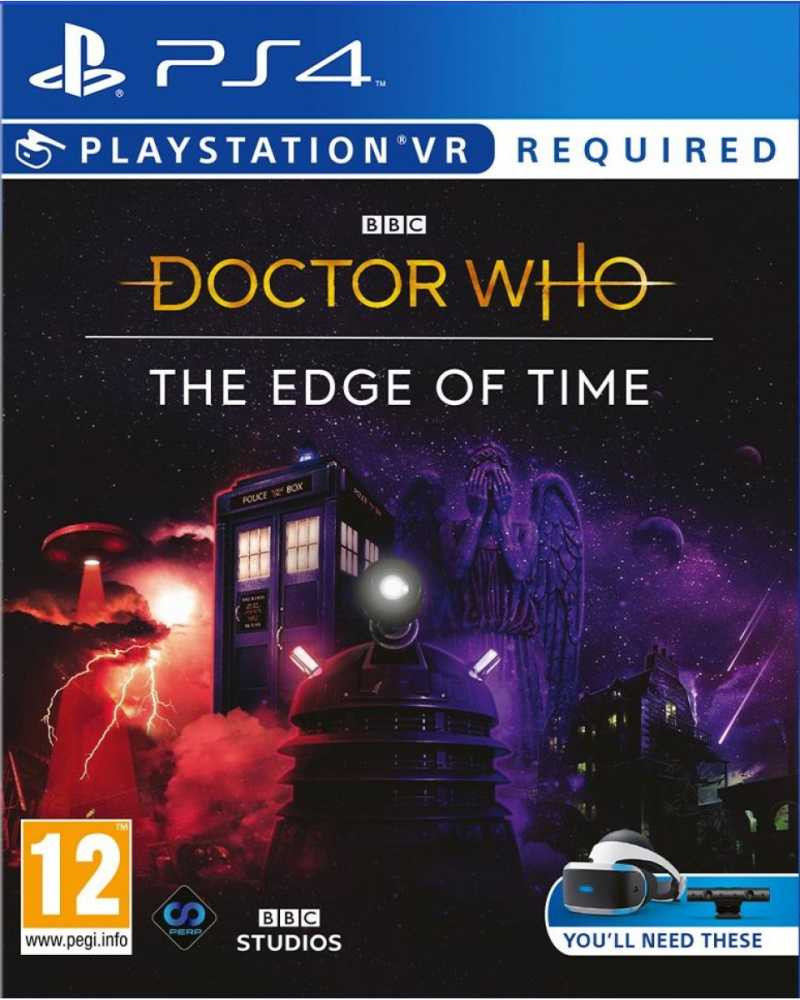 PS4 Doctor Who The Edge of Time VR