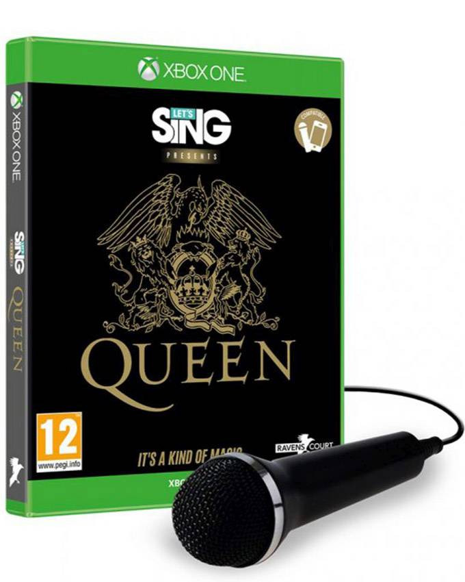 XBOX ONE Lets Sing Queen sa mikrofonom