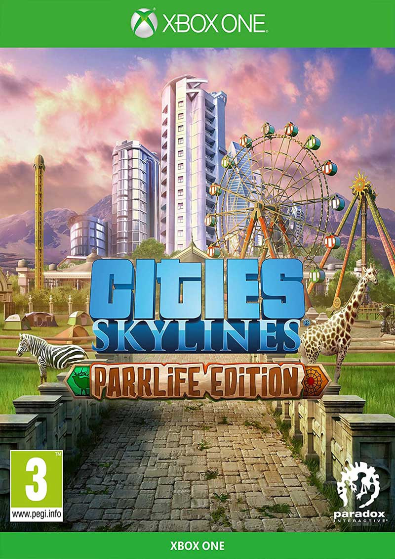 XBOX ONE Cities Skylines - Parklife Edition