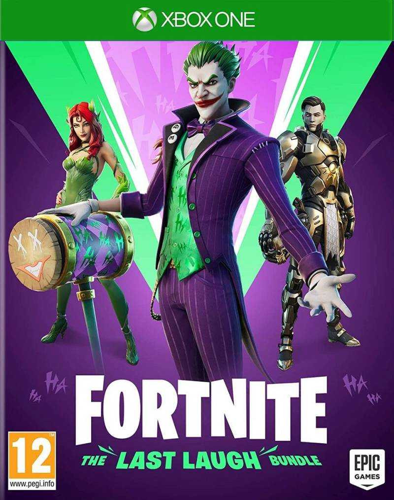 XBOX ONE Fortnite The Last Laugh Bundle