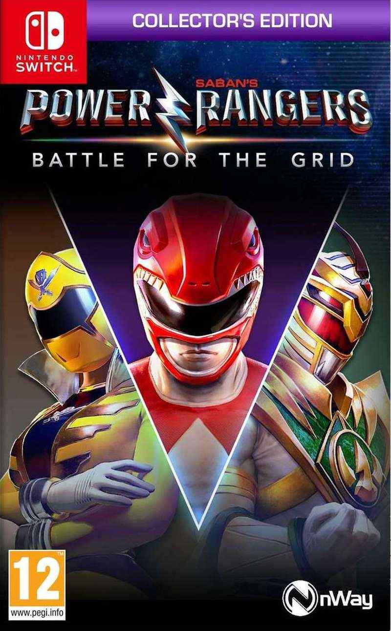 SWITCH Power Rangers - Battle For The Grid - Collectors Edition