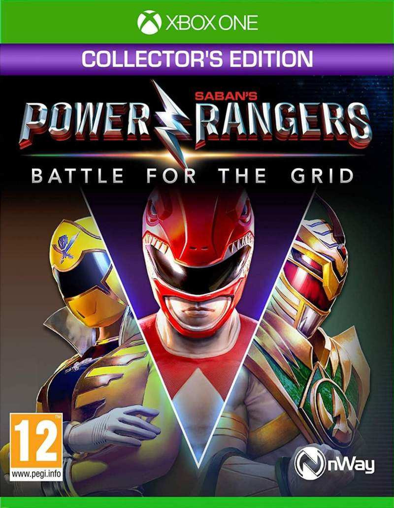 XBOX ONE Power Rangers - Battle For The Grid - Collectors Edition